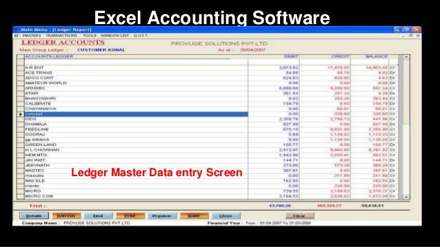 دانلود رایگان کاربرد Excel درحسابداری